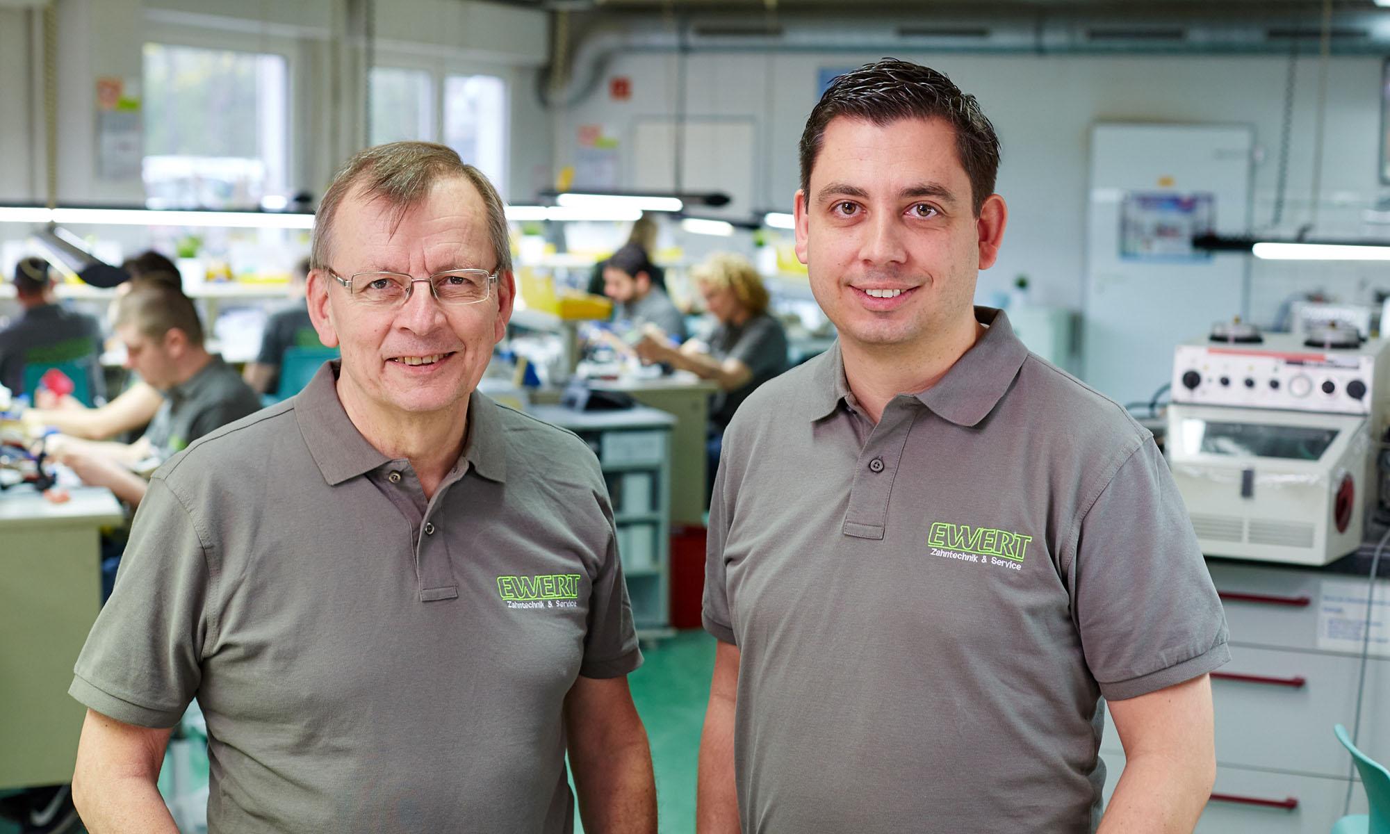 Heinz und Peter Ewert